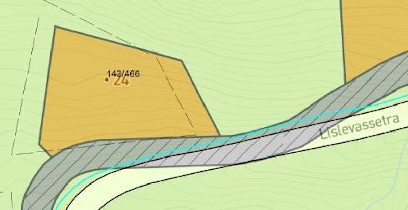 Kart over eiendommen