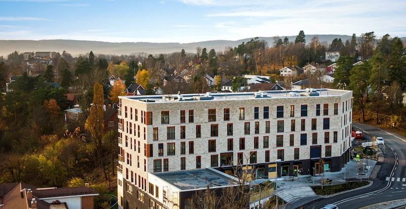 Fasade - Gamle Drammensvei 46 B