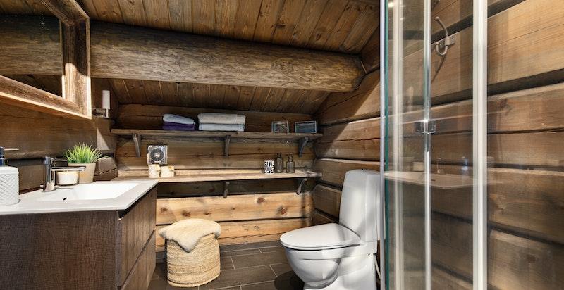 Bad i loftetasjen