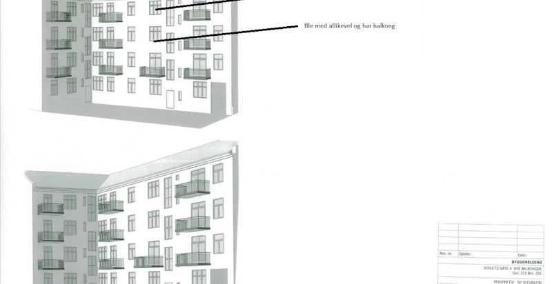 Schultzgt 35 balkonger