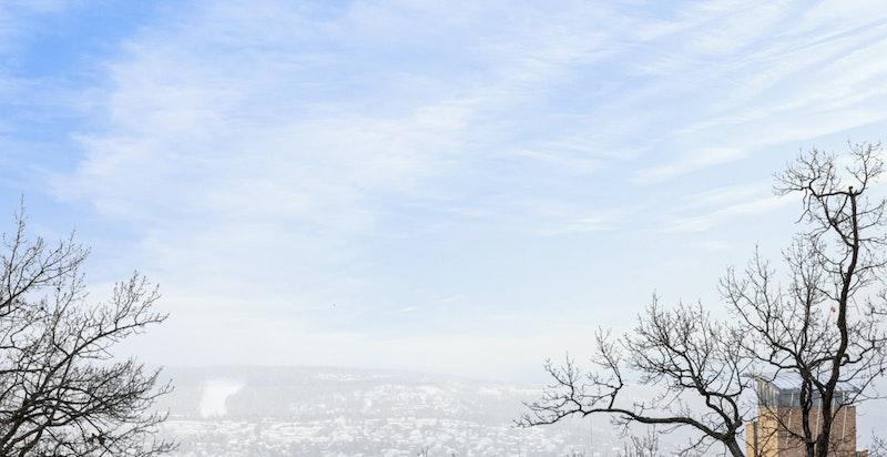 Utsikt mot Nesoddlandet