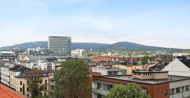 Utsikt fra Neuberggata 19A (lånt fra tidligere salg)