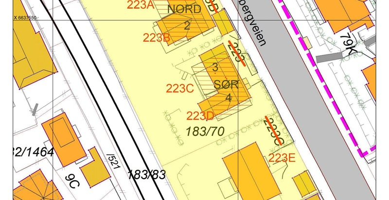 Ekeberg - adressekart
