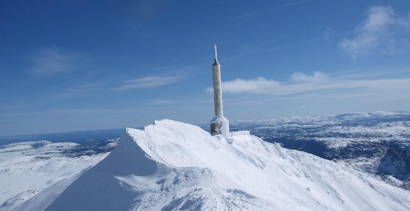 Gå opp, eller ta Gaustabanen inne i fjellet, til toppen av Gaustatoppen. Skituren ned er fantastisk