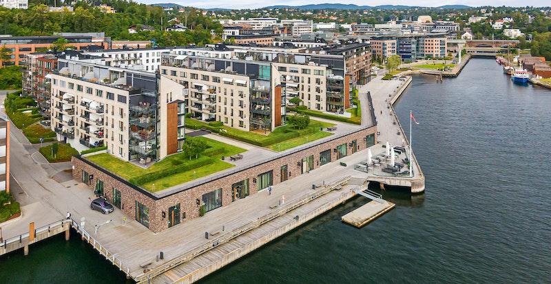 Velkommen til Lysaker Brygge. Bo med sjøen som nærmeste nabo!