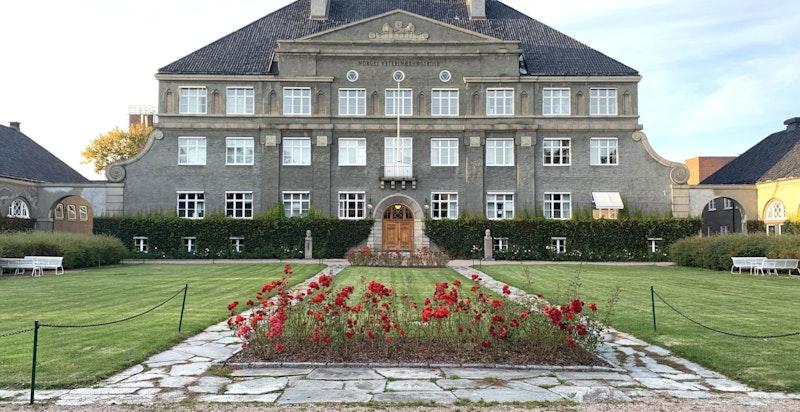 Storslagen bebyggelse i nærområdet - her fra Norges Veterinærhøgskole