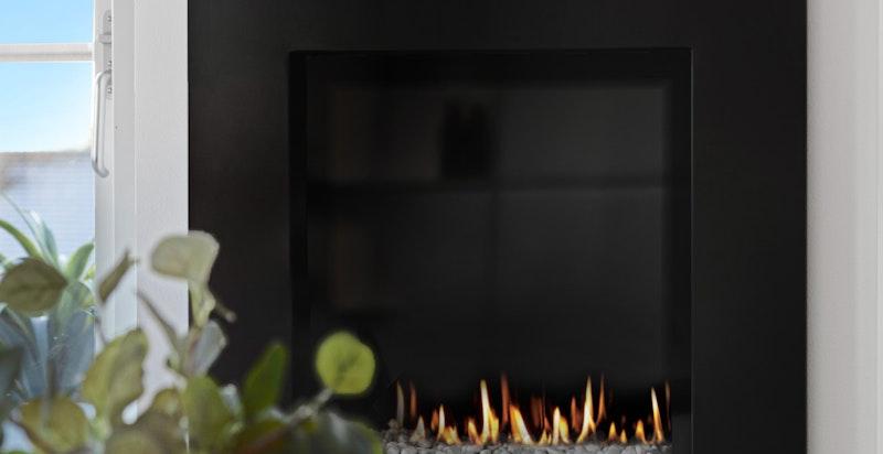 Koselig gasspeis som varmer