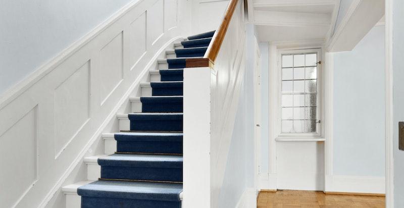 Trappeløp til andre etasje