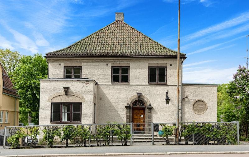 Halvdan Svartes gate 44 - Herskapelig byvilla ved Frognerbekken, rett ved inngangen til Frognerparken