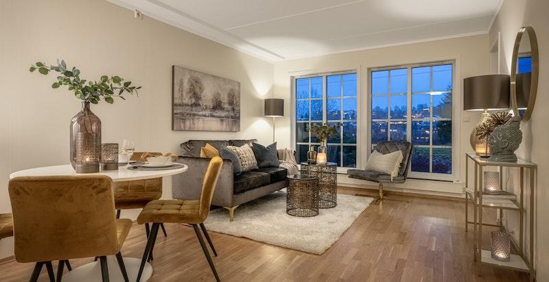 Velkommen til Sameiet Hestehaugen Terrasse, et representativt leilighetskompleks i idylliske omgivelser