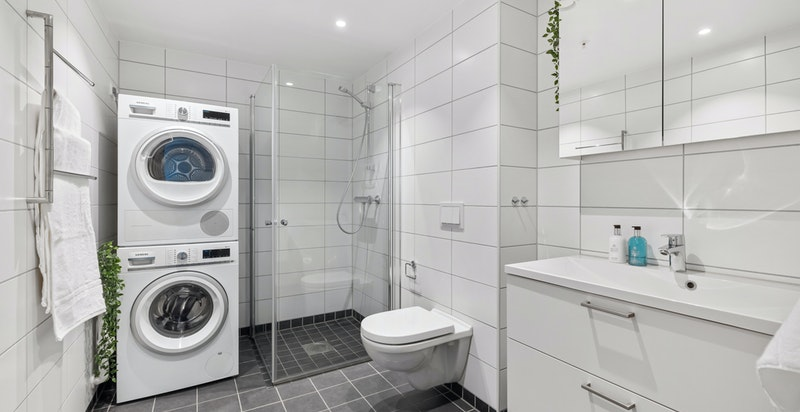 Gjestebad/vaskerom