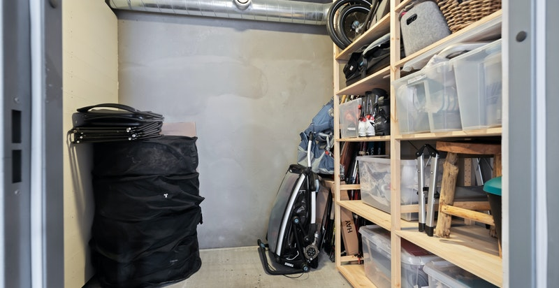 Bod i garasjeanlegg