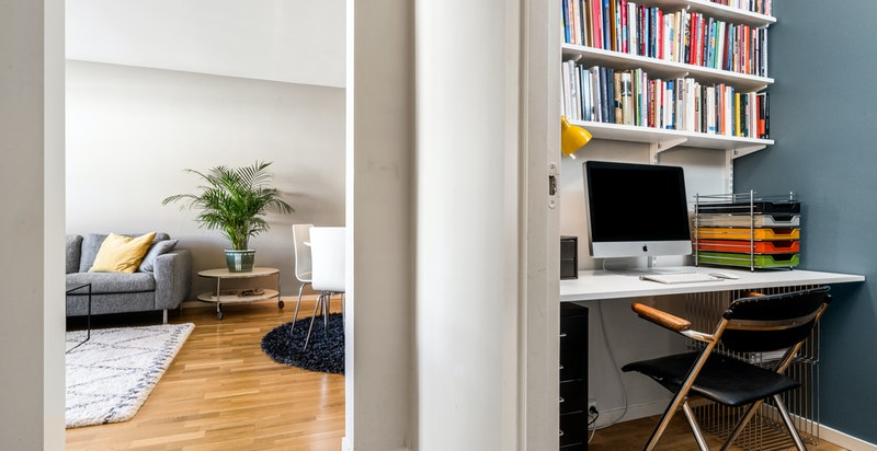 Kontor og stue