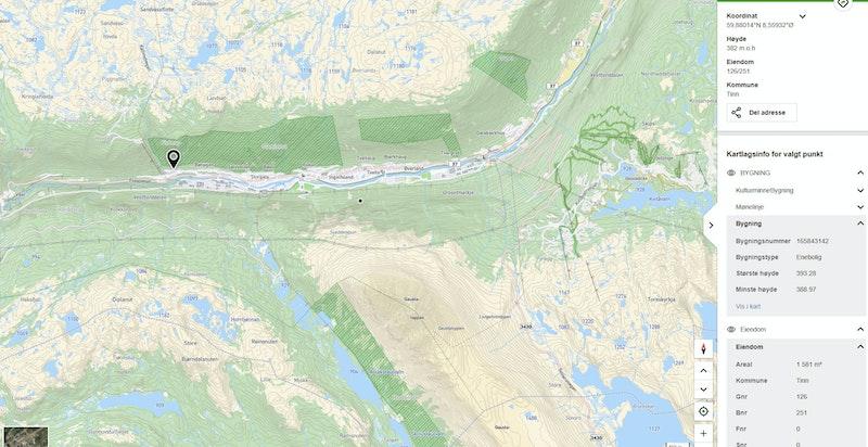 Fjellveien 5 i Rjukan- og Gaustaområdet