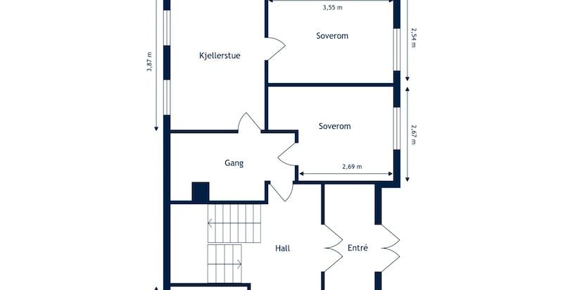 Harestien 1 - U. etasje