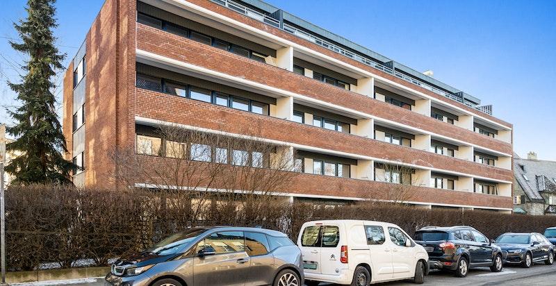 Parkeringsanlegg under leilighetskomplekset i Pilestredet 100 A/B.