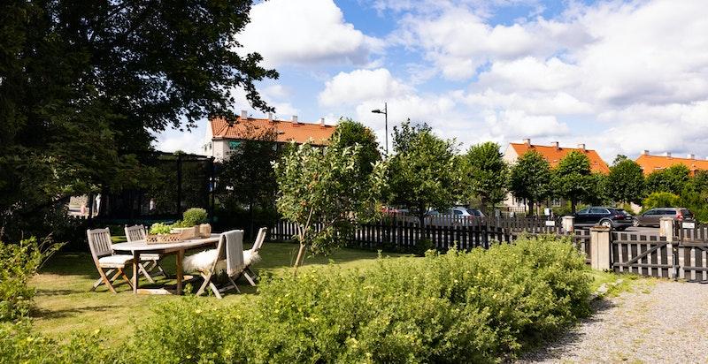I Ullevål Hageby kan barna løpe fritt mellom de koselige gatene og de rolige internveiene.