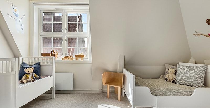 Det øvrige rommet fungerer ypperlig som barnerom, gjesterom, kontor eller det man måtte ha behov for.