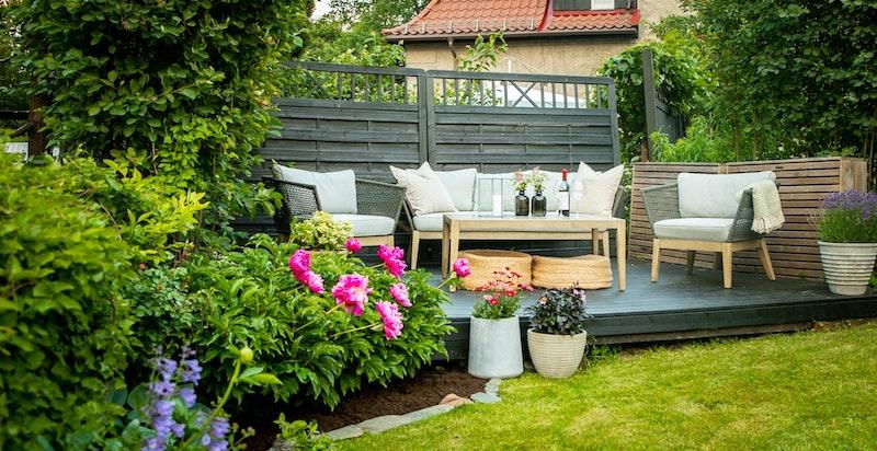Selgers bilde av hagen