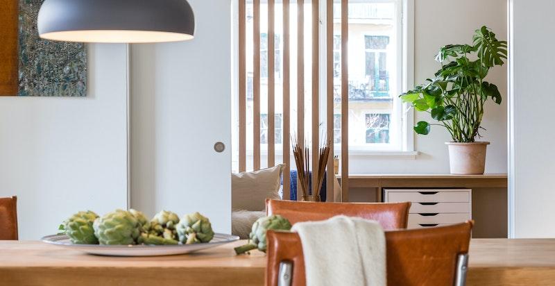 En rålekker leilighet som har vært avbildet i interiørmagasinet Design Interiør