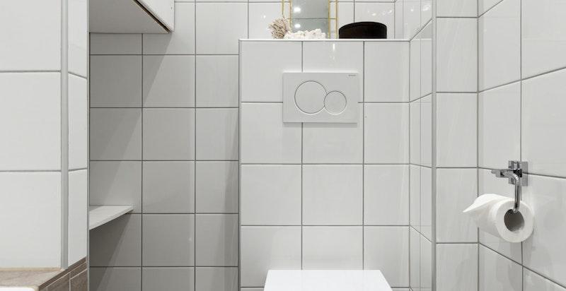 Vegghengt wc.