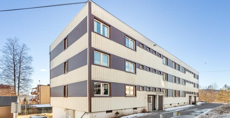 Fasade Bergensveien 58.