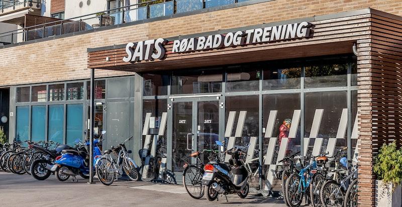 Treningsmuligheter på Sats og Røa bad.
