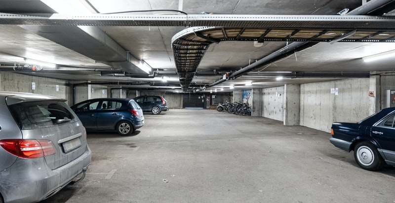 Mulighet til å leie garasjeplass for kr 2000,- pr mnd