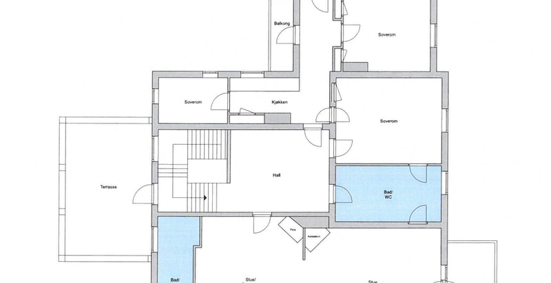 Hovedhus 2. etasje