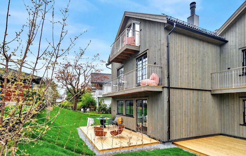 - Lekker halvpart av vertikaldelt bolig -