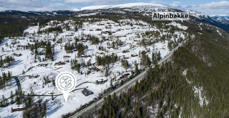 Kort vei til alpinanlegget