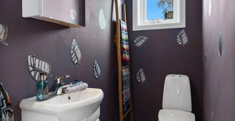 Toalett i direkte tilknytning til soverom / gjesterom
