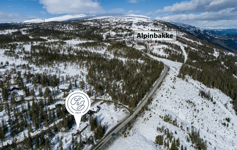 5 min. biltur til Norefjell alpinsenter