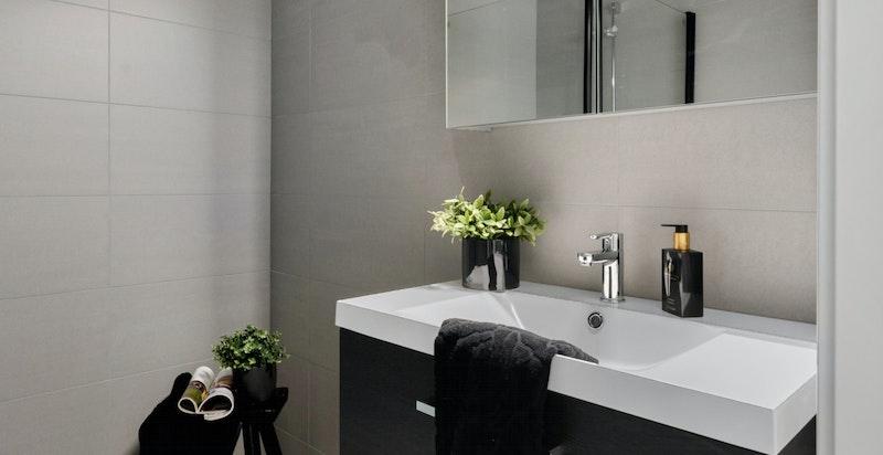 Detaljbilde fra bad/wc