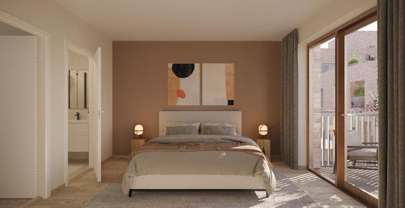 F2-601 Master bedroom (slett himling er tilvalg)