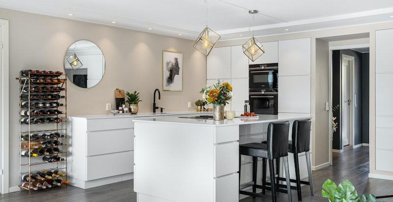 Hyggelig og praktisk barløsning på kjøkkenøyen