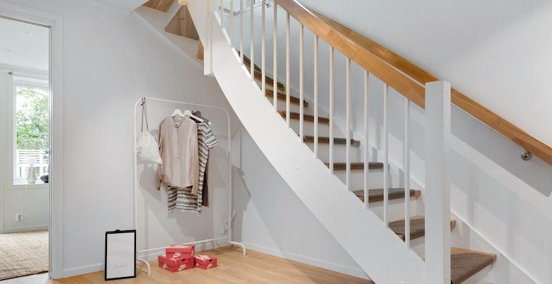 Trappeløpet mellom etasjene