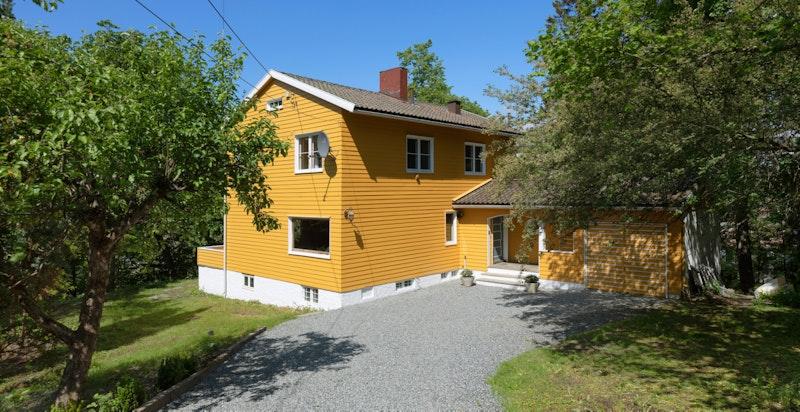 Velkommen til Abbedikollen 15, beliggende i et barneeldorado på Ullern.