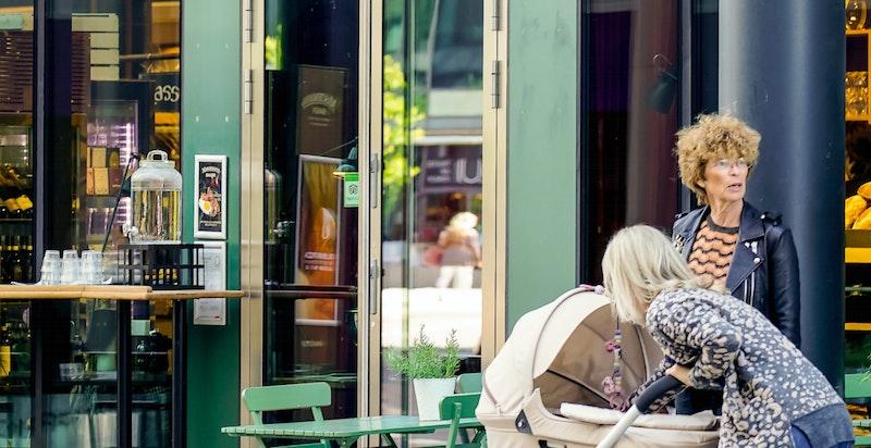 Populære Machmanns matmarked med ferskvaredisk, brasseri, bakeri og førsteklasses pizza redder ofte søndagen.