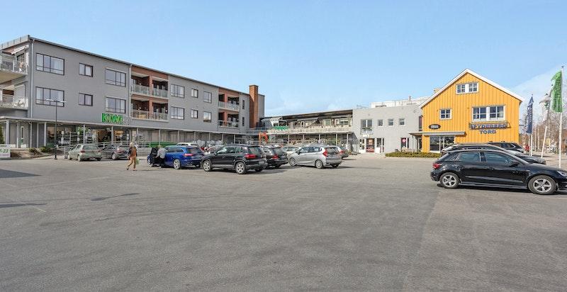 Spydeberg sentrum har det du trenger av servicetilbud i hverdagen.