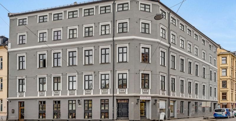 Klassisk kvartalsbebyggelse