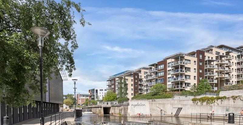 Man kan spasere langs Akerselva helt opp til Kjelsås eller ned til sentrum