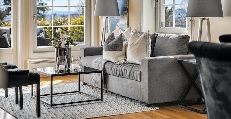 Lys og pen stue