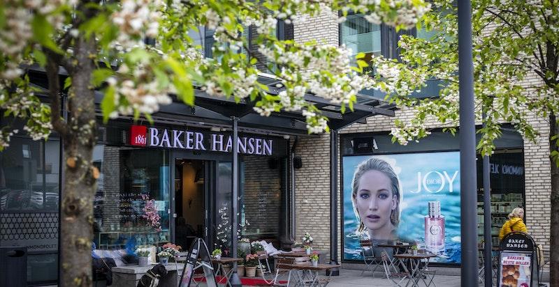 Baker Hansen på Vinderen 3 min gange fra leiligheten