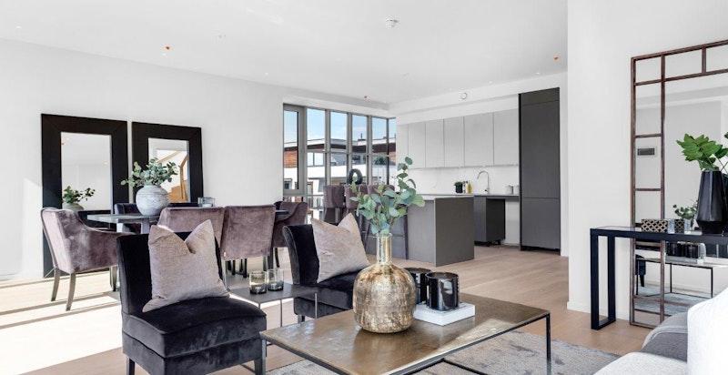 Innholdsrike og lyse leiligheter (bilde fra B1.21).