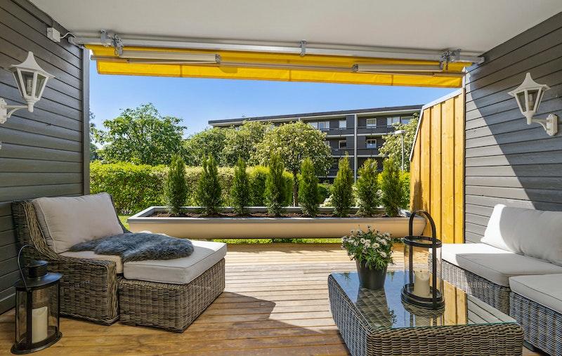 En romslig 2-roms selveierleilighet beliggende i et stille, rolig og familievennlig boligområde på Ullern/Åsjordet