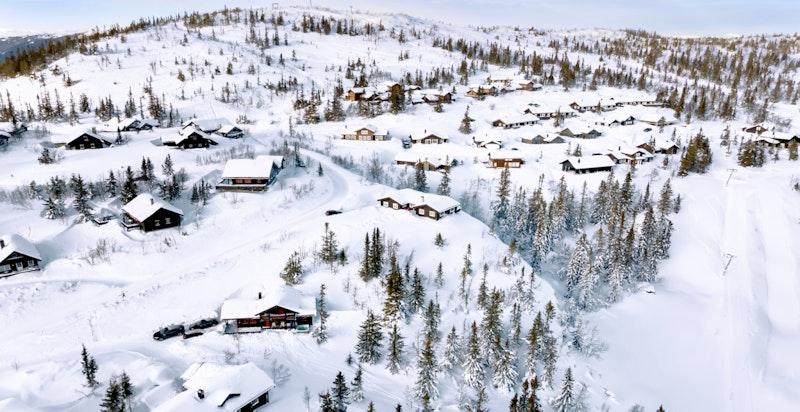 Foto av området fra februar 2021