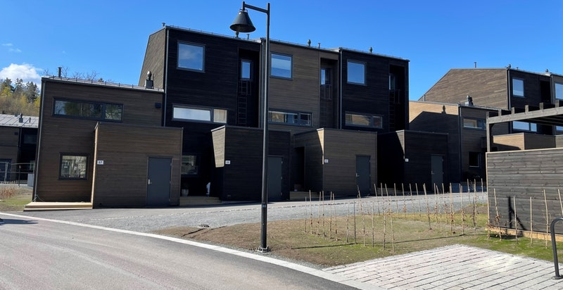 Tilsvarende rekkehus i byggetrinn 1