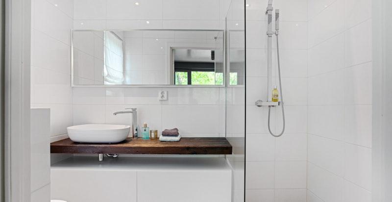 Dusjbad/wc 1 tilnyttet hovedsoverom
