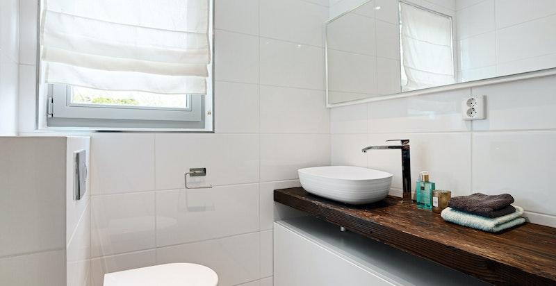 Detalj fra dusjbad/wc 1